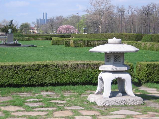 Belle Isle Park's Japanese Garden